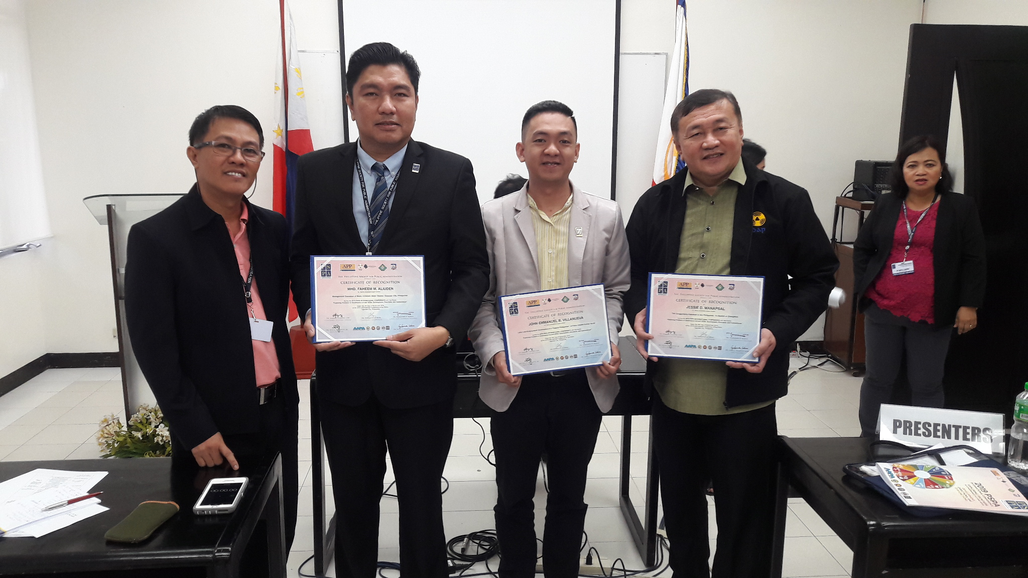 CCSPC Graduate College Faculty Presents Paper during the 2019 PSPA International Conference