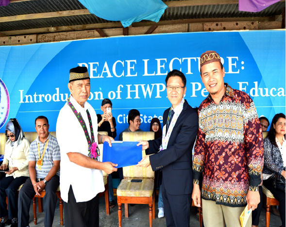 10 million signature campaign for sustainable peace and development advocated