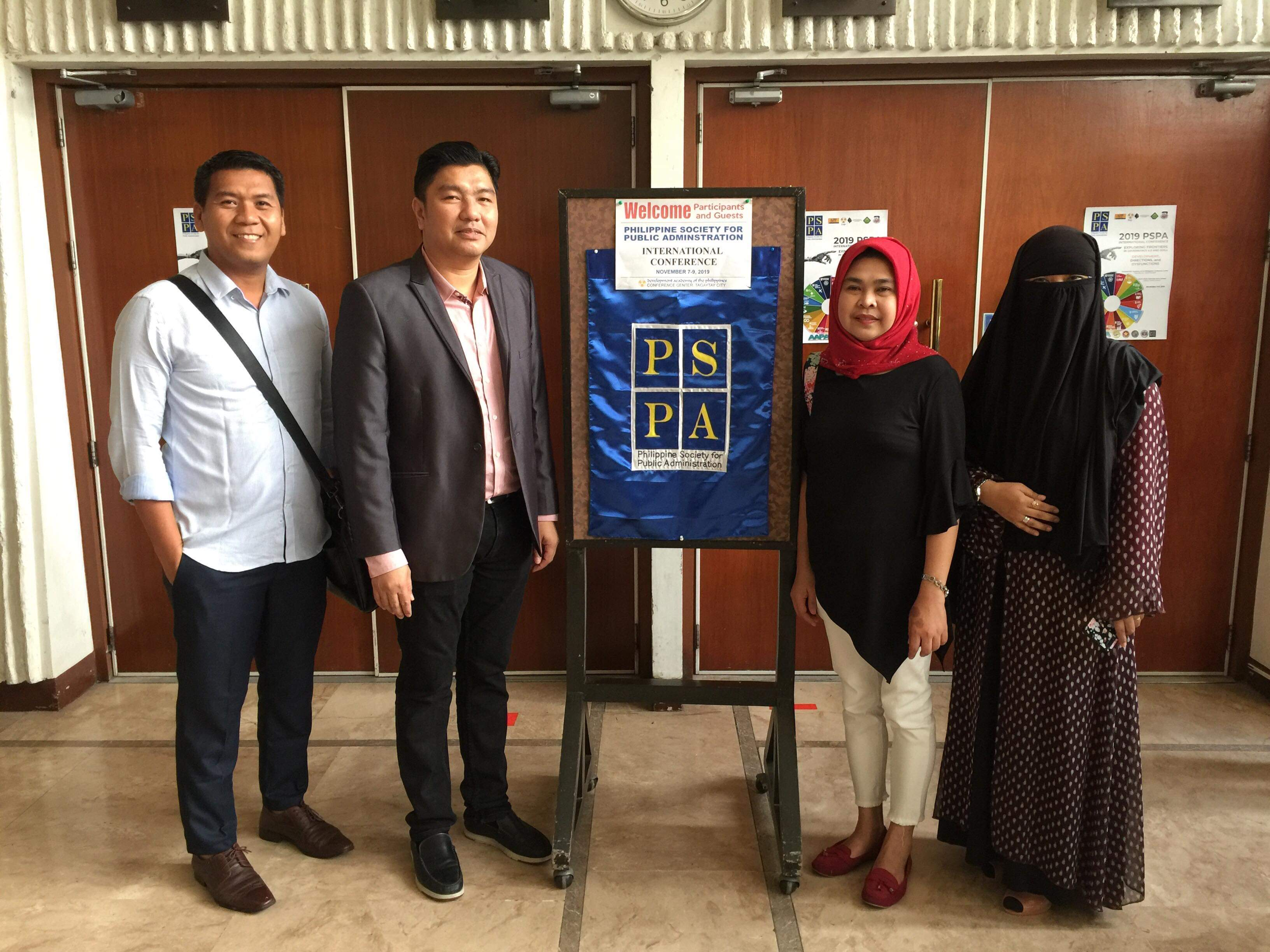 CCSPC Graduate Faculty and Students Attend the 2019 Philippine Society of Public Administration International Conference
